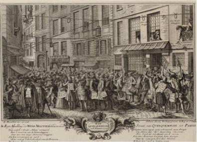 Nouvelle lisibilité de l'urbain. L'affiche à Paris au 18e siècle