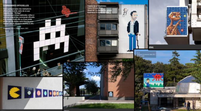 Lorsque le pixel envahit l'urbain : INVADERS