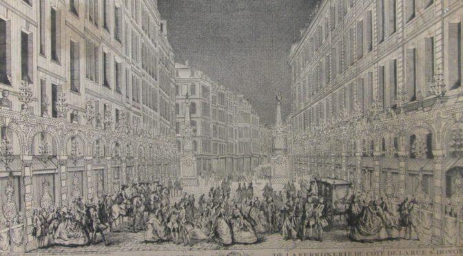 Paris en liesse. Paysages et coulisses d'une ville en réjouissances au XVIIIe siècle