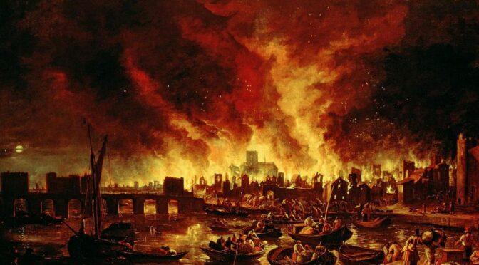 La ville et le feu : l'empreinte de l'incendie dans le milieu urbain